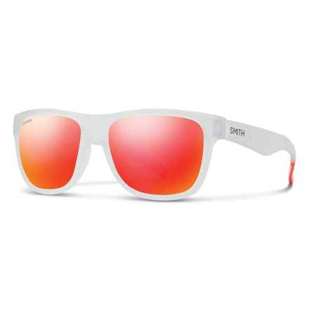 Smith Optics Lowdown XL Sunglasses - ChromaPop® Lenses in Crystal Red/Sun Red - Overstock
