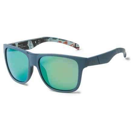 Smith Optics Lowdown XL Sunglasses - ChromaPop® Lenses in Matte Corsair Ripped/Sun Green - Overstock