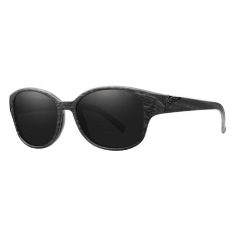 Smith Optics Lyric Sunglasses in Black Oak/Blackout