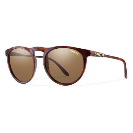 Smith Optics Marvine Sunglasses - Polarized (For Men) in Matte Tortoise/Brown - Overstock