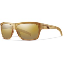 Smith Optics Mastermind Sunglasses - Polarized in Champagne/Polarized Gold Gradient - Closeouts