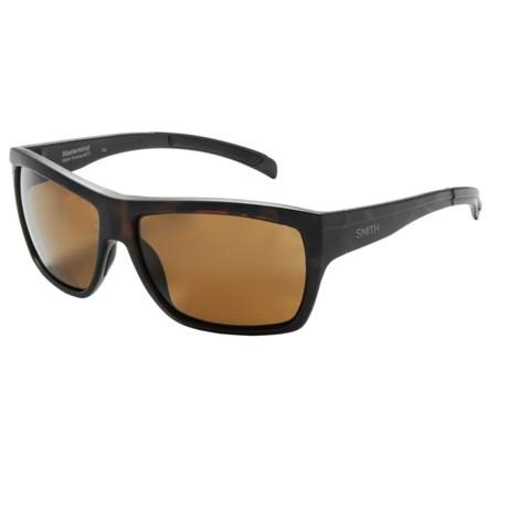 Smith Optics Mastermind Sunglasses - Polarized in Matte Tortoise/Brown