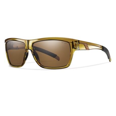 Smith Optics Mastermind Sunglasses - Polarized in Vintage Green/Polarized Green Gradient