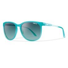 Smith Optics Mt. Shasta Sunglasses in Aqua/Lagoon Gradient - Closeouts