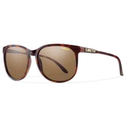 Smith Optics Mt. Shasta Sunglasses - Polarized (For Women) in Matte Tortoise/Brown - Overstock