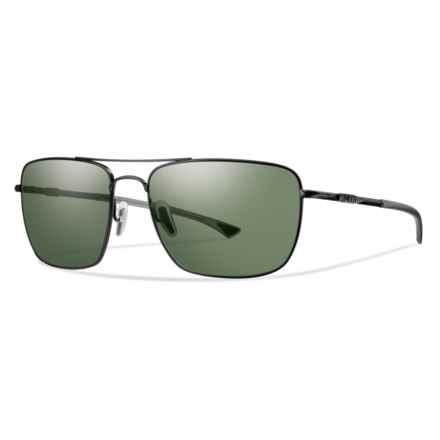 Smith Optics Nomad ChromaPop® Sunglasses - Polarized Lenses in Matte Black/Gray/Green - Closeouts