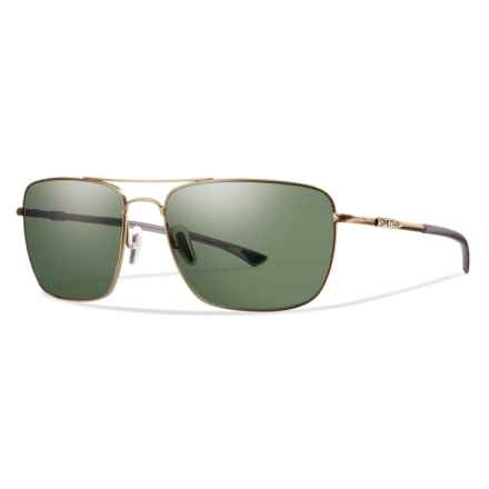 Smith Optics Nomad ChromaPop® Sunglasses - Polarized Lenses in Matte Gold/Gray/Green - Closeouts