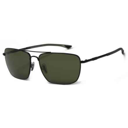 Smith Optics Nomad Sunglasses - Polarized ChromaPop® Lenses in Matte Black/Gray Green - Overstock