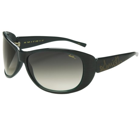 Smith Optics Novella Sunglasses (For Women) in Emerald/Green Gradient