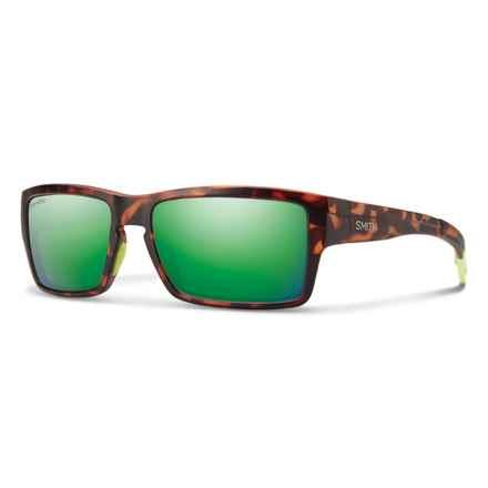 Smith Optics Outlier ChromaPop® Sunglasses - Polarized in Matte Tortoise/Green - Closeouts
