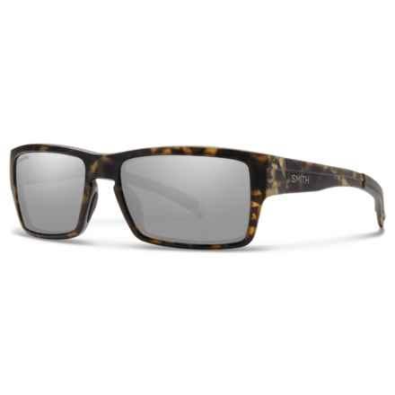 Smith Optics Outlier Sunglasses - ChromaPop® Lenses in Matte Camo/Platnium - Overstock