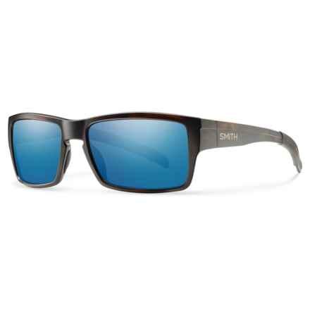 Smith Optics Outlier Sunglasses - ChromaPop® Lenses in Matte Tortoise/Blue - Overstock