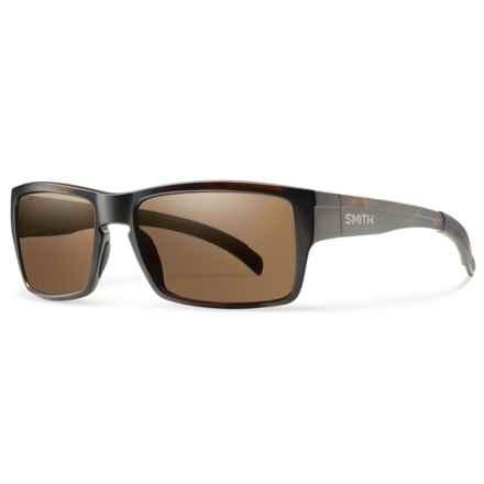 Smith Optics Outlier Sunglasses - ChromaPop® Lenses in Matte Tortoise/Brown - Overstock