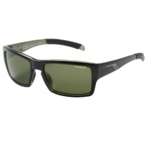 Smith Optics Outlier Sunglasses - Polarized ChromaPop Lenses in Black/Gray Green - Closeouts