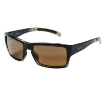 Smith Optics Outlier Sunglasses - Polarized in Black Olive Fade/Gold Gradient Mirror - Closeouts