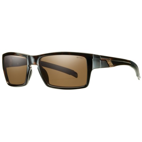 Smith Optics Outlier Sunglasses - Polarized in Tortoise/Polar Brown