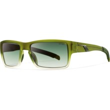 Smith Optics Outlier Sunglasses - Polarized in Vintage Green/Polarized Green Gradientt - Closeouts