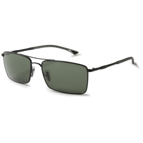 47550ff475872 Smith Optics Outlier Titanium Sunglasses - Polarized ChromaPop Lenses in  Matte Black Gray Green