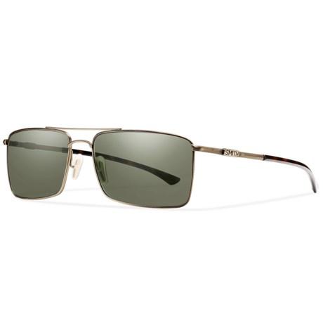Smith Optics Outlier Titanium Sunglasses - Polarized ChromaPop Lenses