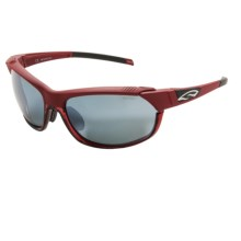 Smith Optics Overdrive Sunglasses - Interchangeable Lenses in Calder Red/Platinum - Closeouts