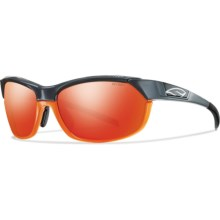 Smith Optics Overdrive Sunglasses - Interchangeable Lenses in Gray Orange/Red Sol-X - Closeouts