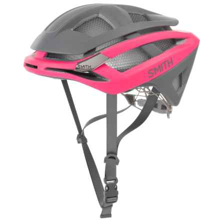 Smith Optics Overtake Road Bike Helmet in Matte Pink/Charcoal - Closeouts