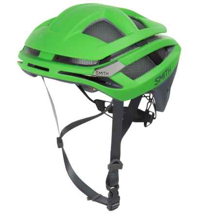 Smith Optics Overtake Road Bike Helmet in Matte Reactor Green - Closeouts