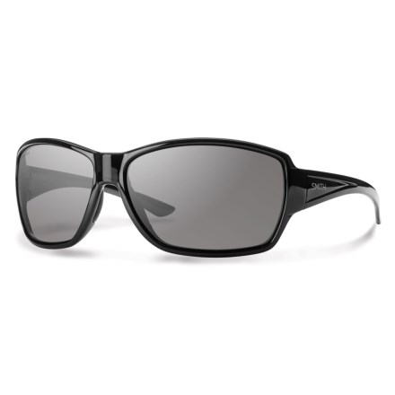 d3d28c9df8 Smith Optics Pace Sunglasses - Polarized (For Women). in Black Gray
