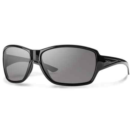 Smith Optics Pace Sunglasses - Polarized in Black/Gray - Overstock