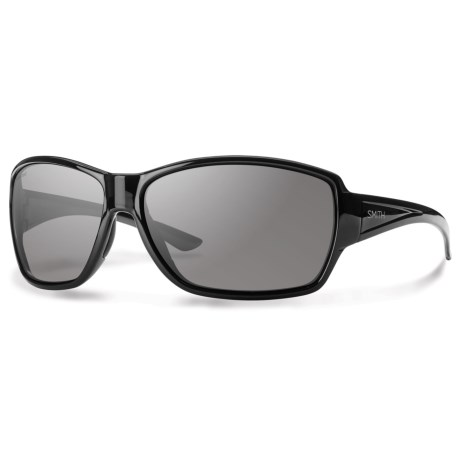 Smith Optics Pace Sunglasses - Polarized in Black/Gray