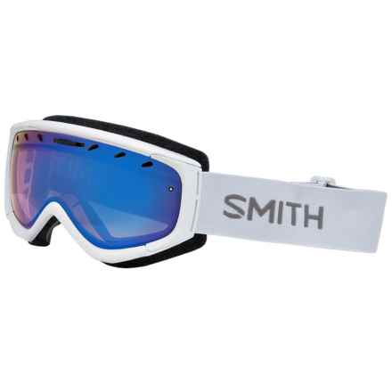 Smith Optics Phase Ski Goggles (For Women) in White/Blue Sensor - Closeouts