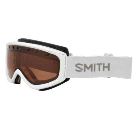 Smith Optics Phase Ski Goggles - RC36 Lens (For Women) in White/Rc36 - Closeouts
