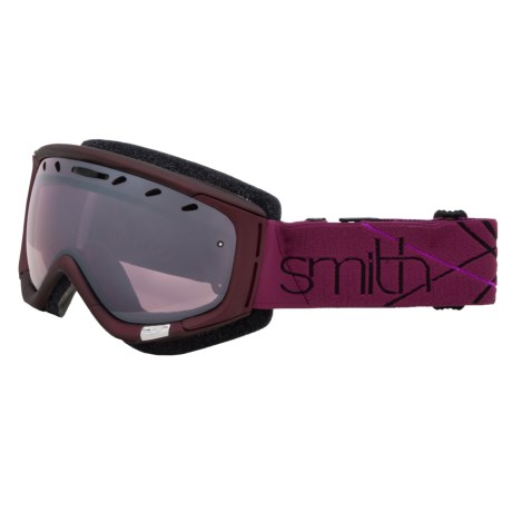 Smith Optics Phase Snowsport Goggles (For Women) in Blackberry Prism/Ignitor Mirror