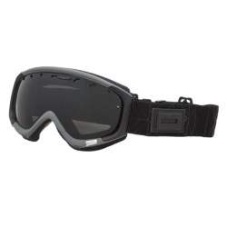 Smith Optics Phase Snowsport Goggles (For Women) in Charcoal Coven/Blackout
