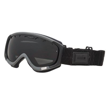 Smith Optics Phase Snowsport Goggles (For Women) in Facet Graphite/Blue Sensor