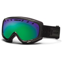 Smith Optics Phase Snowsport Goggles (For Women) in Gunmetal Coven/Green Sol-X Mirror - Closeouts