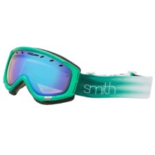Smith Optics Phase Snowsport Goggles (For Women) in Jade Omega/Blue Sensor - Closeouts