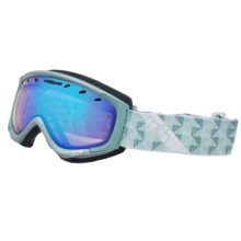 Smith Optics Phase Snowsport Goggles (For Women) in Mist Motif/Blue Sensor - Closeouts
