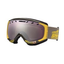 Smith Optics Phase Snowsport Goggles - Spherical Mirror Lens (For Women) in Antique/Yellow Legacy/Ignitor Mirror - Closeouts