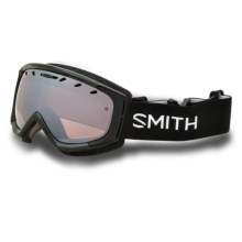Smith Optics Phenom Snow Goggles in Black/Ignitor - Closeouts