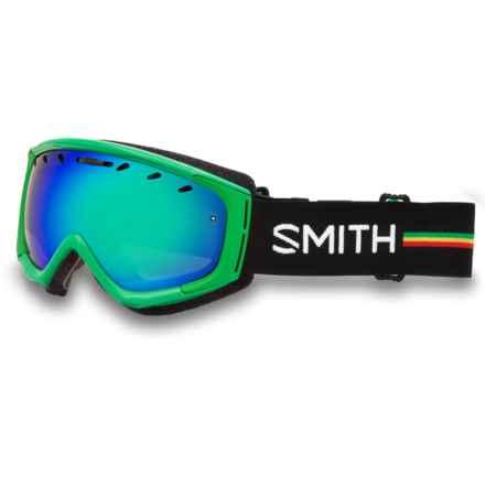 Smith Optics Phenom Snow Goggles in Irie/Green Sol-X - Closeouts