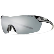 Smith Optics Pivlock V2 Max Sunglasses - Interchangeable in Black/Platinum Mirror - Closeouts