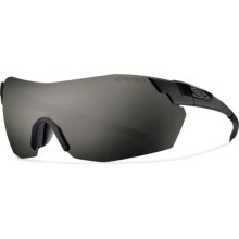 Smith Optics PivLock V2 Max Sunglasses - Photochromic, Interchangeable in Impossibly Black/Blackout - Closeouts