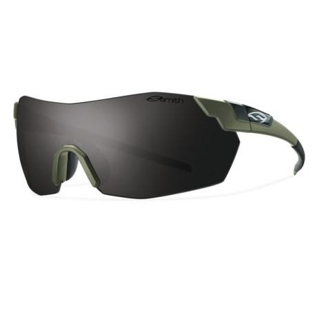 Smith Optics PivLock V2 Sunglasses - Interchangeable, Extra Lenses in Matte Fatigue/Blackout