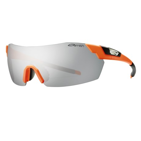 Smith Optics PivLock V2 Sunglasses - Interchangeable, Extra Lenses in Safety Orange/Platinum