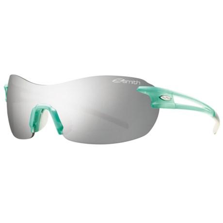 Smith Optics Pivlock V90 Sunglasses - Extra Lenses in Sea Glass/Platinum