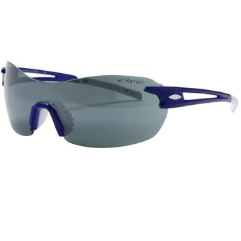 Smith Optics PivLock V90 Sunglasses - Interchangeable, Extra Lenses in Blue/Platinum Mirror