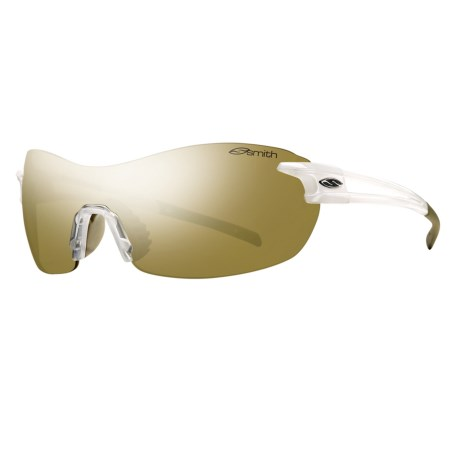 Smith Optics PivLock V90 Sunglasses - Interchangeable, Extra Lenses in Pearl/Bronze Mirror
