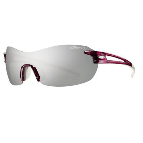 Smith Optics PivLock V90 Sunglasses - Interchangeable, Extra Lenses in Sugar Plum/Platinum Mirror