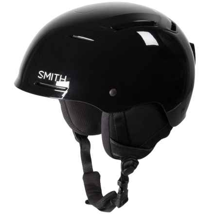 Smith Optics Pivot Jr. Ski Helmet (For Little and Big Kids) in Black - Closeouts